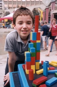 My adopted Little Brother building just because